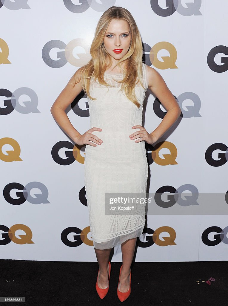 Actress Teresa Palmer arrives at GQ Men Of The Year Party at Chateau Marmont on November 13, 2012 in Los Angeles, California.