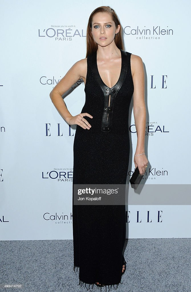 Actress <a gi-track='captionPersonalityLinkClicked' href=/galleries/search?phrase=Teresa+Palmer&family=editorial&specificpeople=612319 ng-click='$event.stopPropagation()'>Teresa Palmer</a> arrives at the 22nd Annual ELLE Women In Hollywood Awards at Four Seasons Hotel Los Angeles at Beverly Hills on October 19, 2015 in Los Angeles, California.