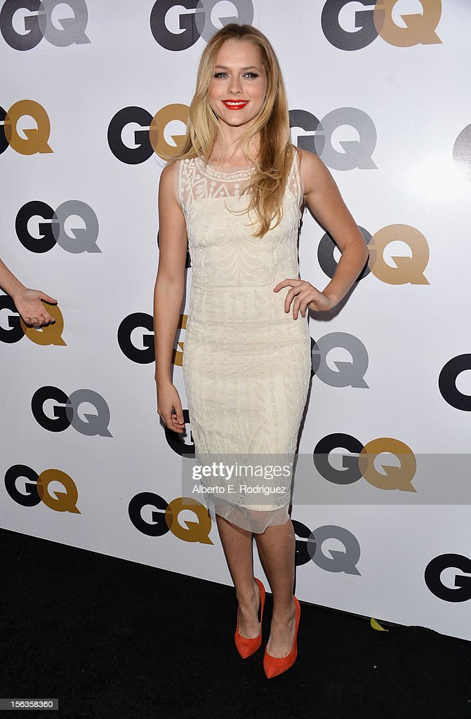 Actress Teresa Palmer arrives at the GQ Men of the Year Party at Chateau Marmont on November 13, 2012 in Los Angeles, California.
