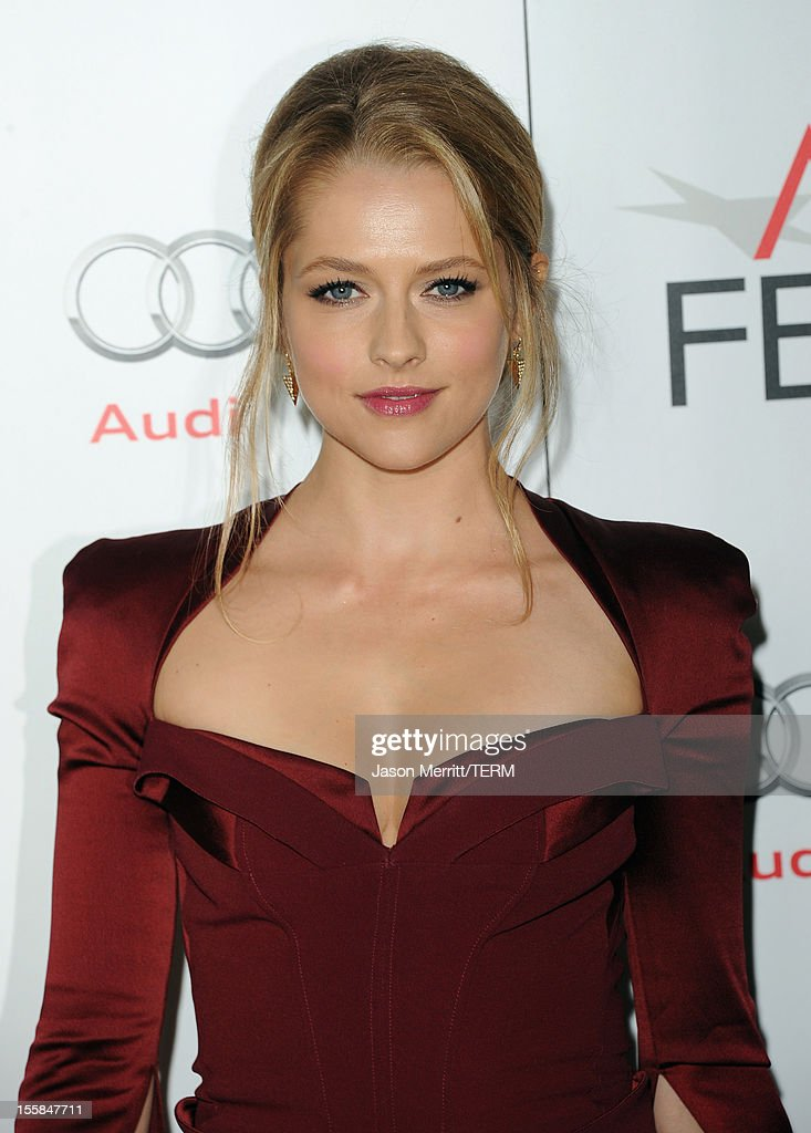 Actress Teresa Palmer arrives at the 'Lincoln' premiere during AFI Fest 2012 presented by Audi at Grauman's Chinese Theatre on November 8, 2012 in Hollywood, California.