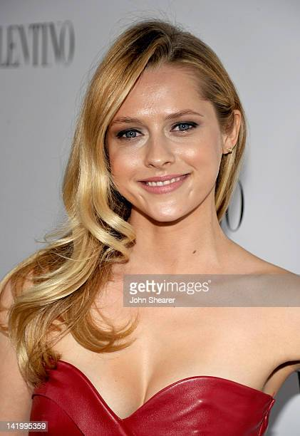 Actress Teresa Palmer arrives at the Valentino Rodeo Drive Flagship Opening on March 27 2012 in Beverly Hills California