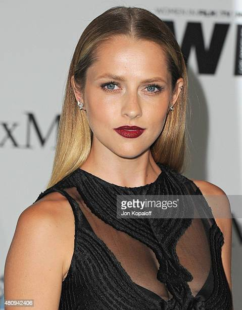 Actress Teresa Palmer arrives at Women In Film 2015 Crystal Lucy Awards at the Hyatt Regency Century Plaza on June 16 2015 in Los Angeles California