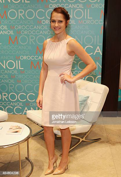 Actress Teresa Palmer attends day 2 of the Variety Studio presented by Moroccanoil at Holt Renfrew during the 2014 Toronto International Film...