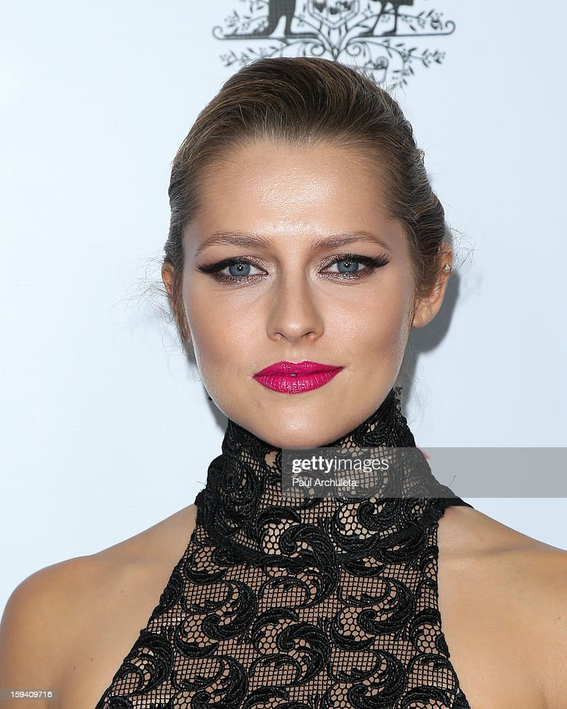 Actress Teresa Palmer attends the 2013 G'Day USA Los Angeles Black Tie Gala at JW Marriott Los Angeles at L.A. LIVE on January 12, 2013 in Los Angeles, California.