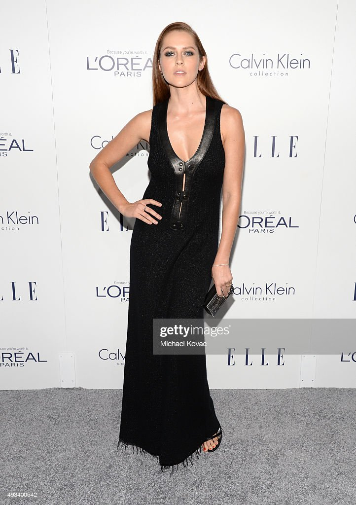 Actress <a gi-track='captionPersonalityLinkClicked' href=/galleries/search?phrase=Teresa+Palmer&family=editorial&specificpeople=612319 ng-click='$event.stopPropagation()'>Teresa Palmer</a> attends the 22nd Annual ELLE Women in Hollywood Awards at Four Seasons Hotel Los Angeles at Beverly Hills on October 19, 2015 in Los Angeles, California.