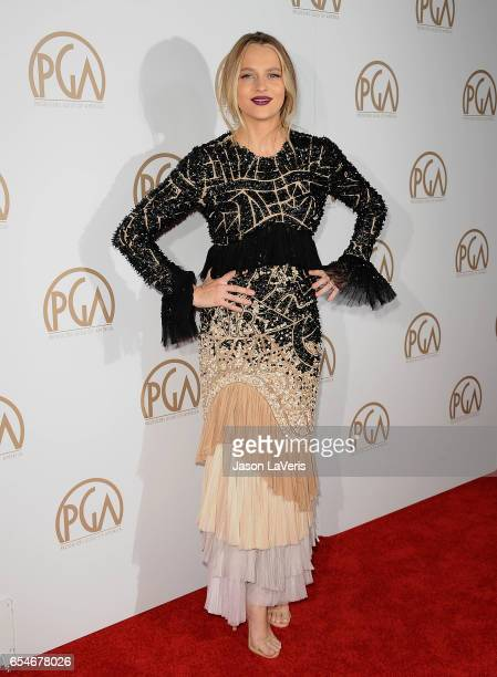 Actress Teresa Palmer attends the 28th annual Producers Guild Awards at The Beverly Hilton Hotel on January 28 2017 in Beverly Hills California