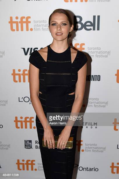 Actress Teresa Palmer attends the 'Kill Me Three Times' premiere during the 2014 Toronto International Film Festival at Scotiabank Theatre on...