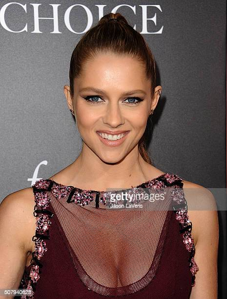 Actress Teresa Palmer attends the premiere of 'The Choice' at ArcLight Cinemas on February 1 2016 in Hollywood California