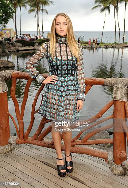 Actress Teresa Palmer attends the Taste of Summer Opening Night Party during the 2015 Maui Film Festival at Grand Wailea on June 3 2015 in Wailea...