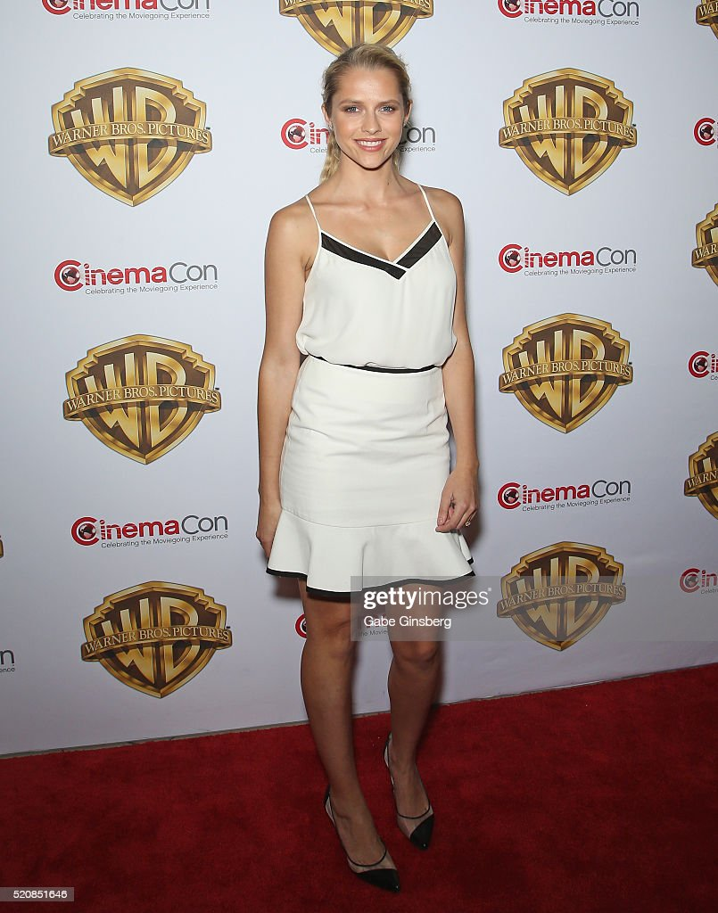 Actress Teresa Palmer attends Warner Bros Pictures' 'The Big Picture' an exclusive presentation highlighting the summer of 2016 and beyond at The...