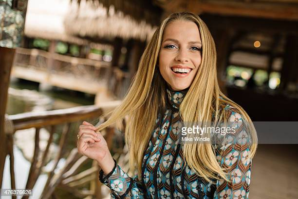 Actress Teresa Palmer is photographed at the Maui Film Festival for Portrait Session on June 3 2015 in Wailea Hawaii