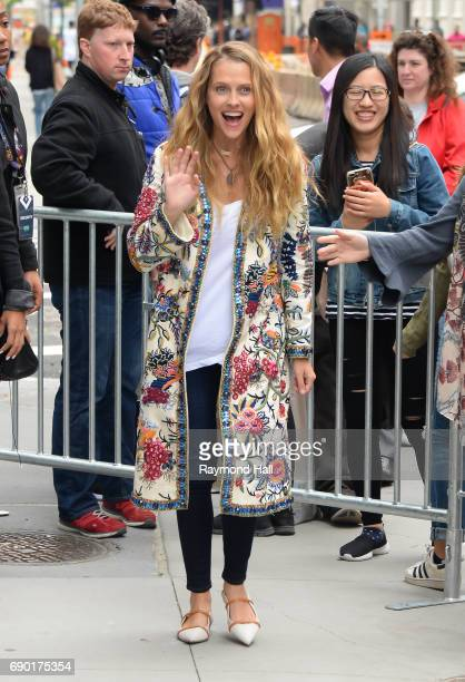 Actress Teresa Palmer is seen walking in Soho on May 30 2017 in New York City