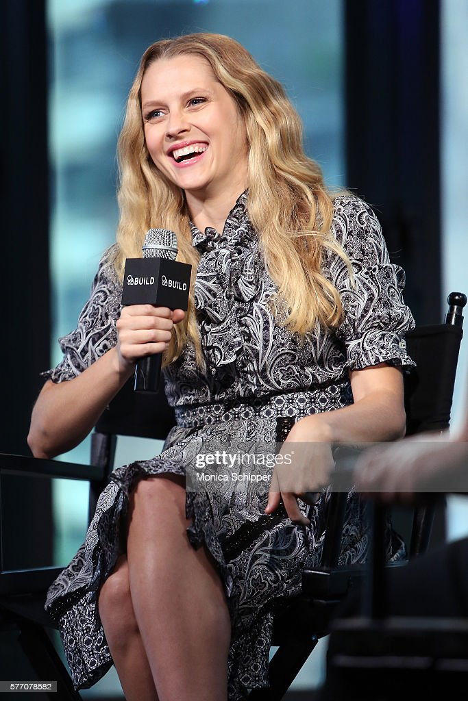 Actress Teresa Palmer speaks at AOL Build Speaker Series - Teresa Palmer, 'Lights Out' at AOL HQ on July 18, 2016 in New York City.