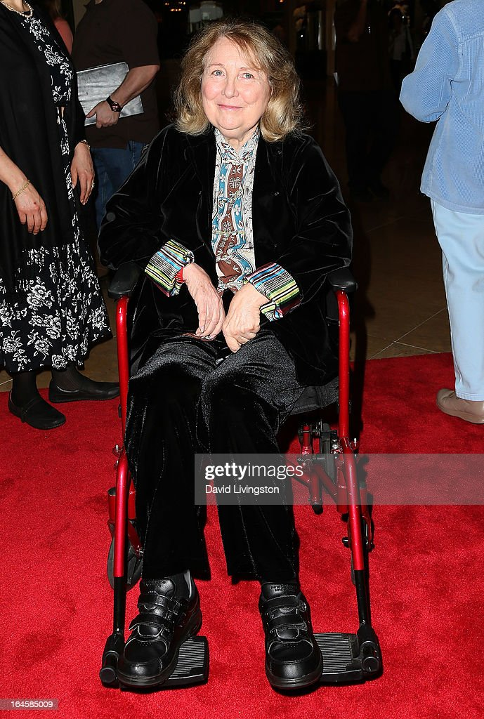 Actress Teri Garr attends the Professional Dancers Society's Gypsy Awards Luncheon at The Beverly Hilton Hotel on March 24, 2013 in Beverly Hills, California.