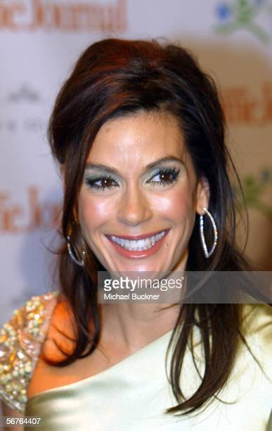 Actress Teri Hatcher arrives at Ladies' Home Journal's 'Funny Ladies We Love' at the Cabana Club February 6 2006 in Los Angeles California