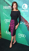 Actress Teri Hatcher arrives at Variety's 2014 Power Of Women Event in LA Presented By LIfetime at the Beverly Wilshire Four Seasons Hotel on October...