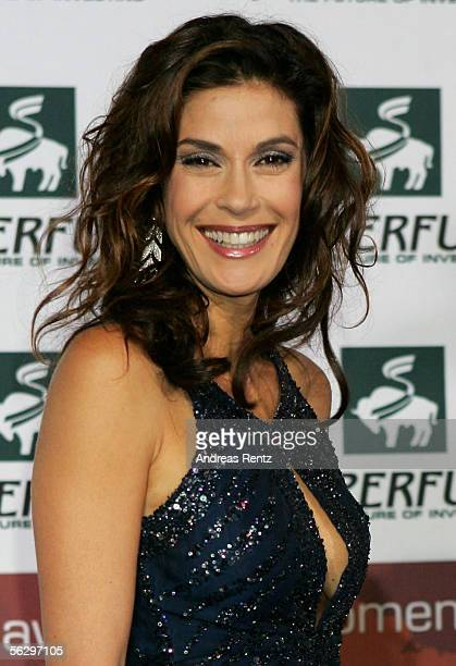 Actress Teri Hatcher arrives for the Women's World Awards November 29 2005 in Leipzig Germany Hatcher is to receive the World Actress Award