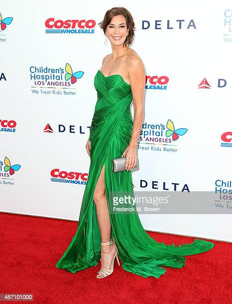 Actress Teri Hatcher attends the 2014 Children's Hospital Los Angeles Gala Noche De Ninos at LA Live Event Deck on October 11 2014 in Los Angeles...