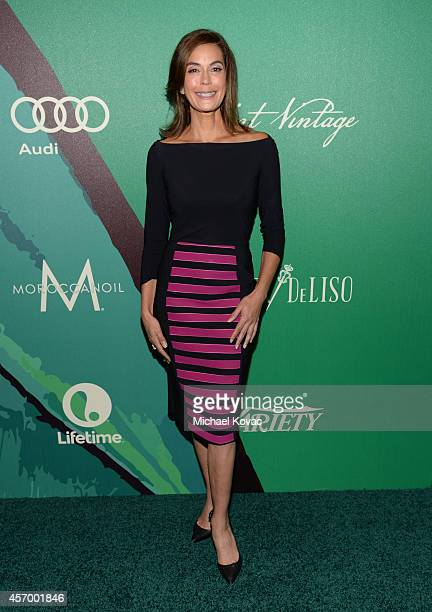 Actress Teri Hatcher attends the 2014 Variety Power of Women presented by Lifetime at Beverly Wilshire Four Seasons on October 10 2014 in Los Angeles...