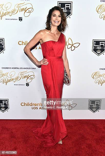 Actress Teri Hatcher attends the 2016 Children's Hospital Los Angeles 'Once Upon a Time' Gala at LA Live Event Deck on October 15 2016 in Los Angeles...