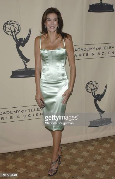 Actress Teri Hatcher attends The Academy of Television Arts Sciences Writers' Peer Group Emmy Nominee Reception at the Hyatt West Hollywood on August...