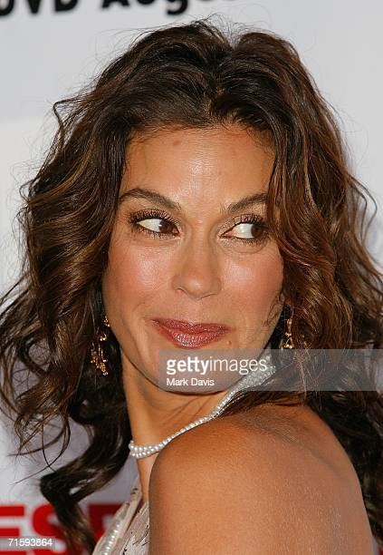 Actress Teri Hatcher attends The Desperate Housewives Season 2 Dvd Launch held on August 5 2006 in Los Angeles California