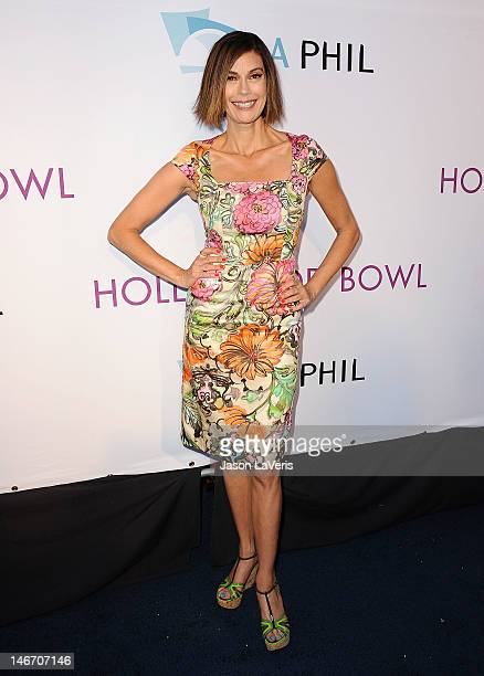 Actress Teri Hatcher attends the Hollywood Bowl opening night celebration at The Hollywood Bowl on June 22 2012 in Los Angeles California