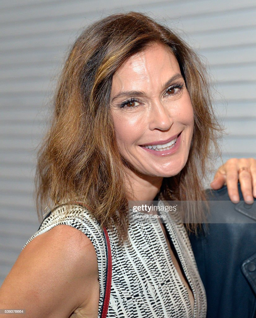 Actress Teri Hatcher attends the opening reception for artist Gregory Siff's 'Portrait Of An American Ice Cream Man' on June 10, 2016 in Los Angeles, California.