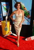 Actress Teri Hatcher attends the premiere of Disney's 'Planes' at the El Capitan Theatre on August 5 2013 in Hollywood California