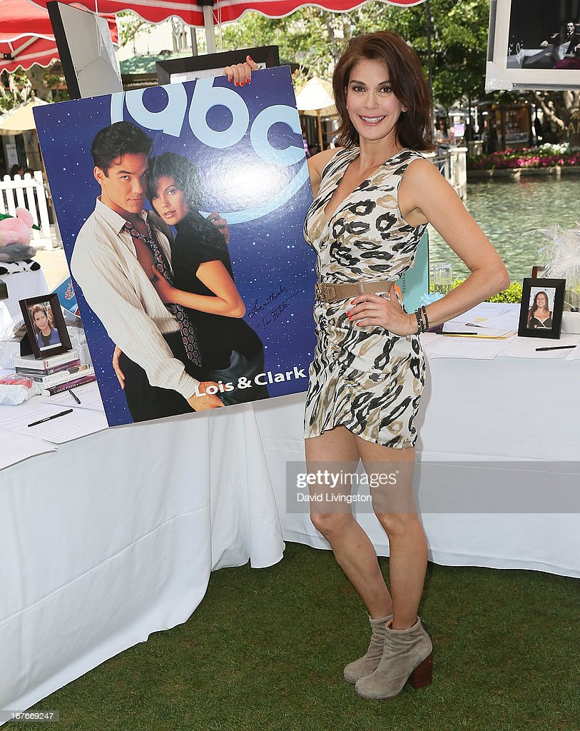Actress Teri Hatcher attends the Teri Hatcher Celebrity Yard Sale and Auction benefiting the Juvenile Arthritis Association at The Americana at Brand on April 27, 2013 in Glendale, California.