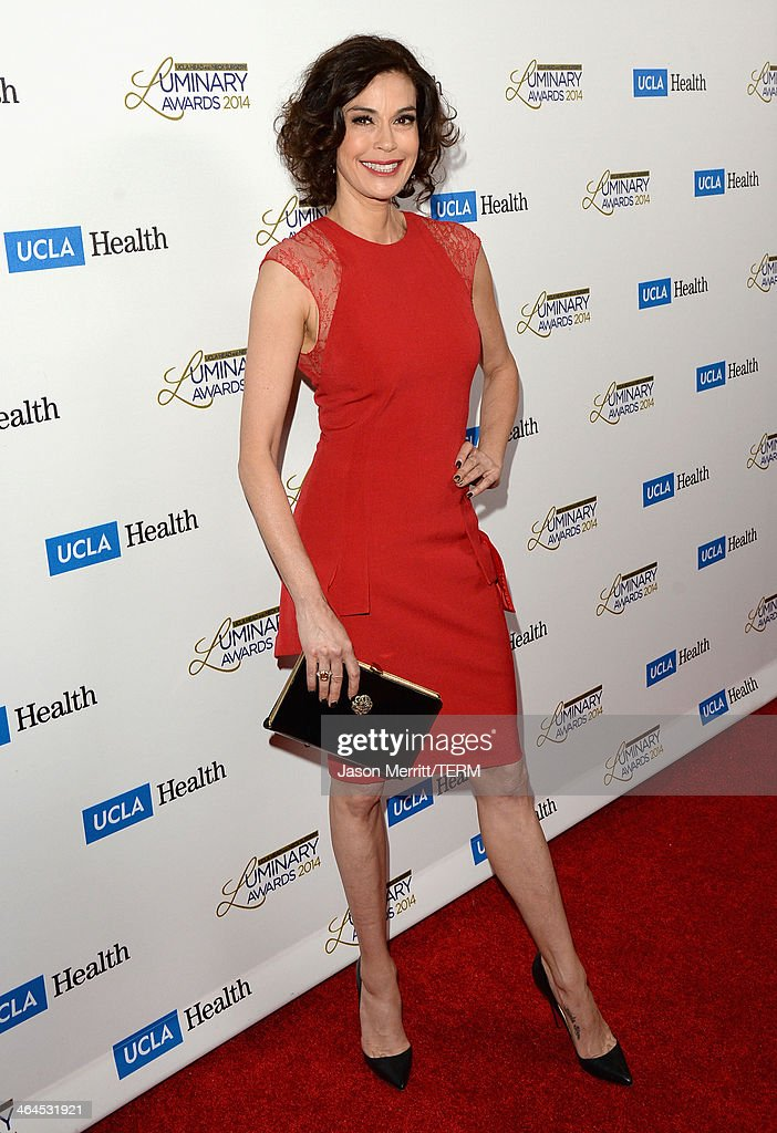 Actress <a gi-track='captionPersonalityLinkClicked' href=/galleries/search?phrase=Teri+Hatcher&family=editorial&specificpeople=202145 ng-click='$event.stopPropagation()'>Teri Hatcher</a> attends the UCLA Head and Neck Surgery Luminary Awards at the Beverly Wilshire Four Seasons Hotel on January 22, 2014 in Beverly Hills, California.