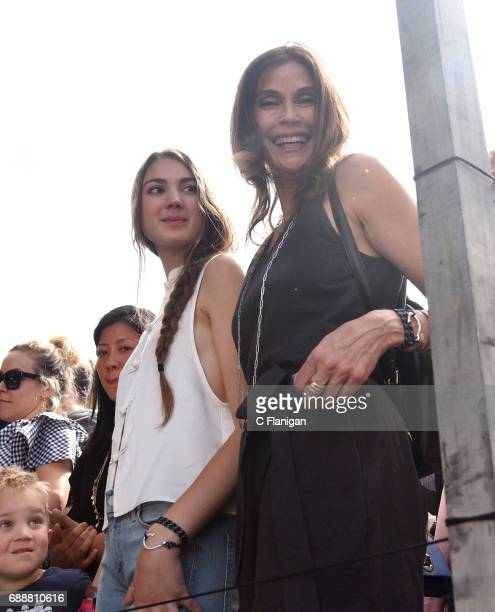 Actress Teri Hatcher is seen during the 2017 BottleRock Napa Valley Festival on May 26 2017 in Napa California