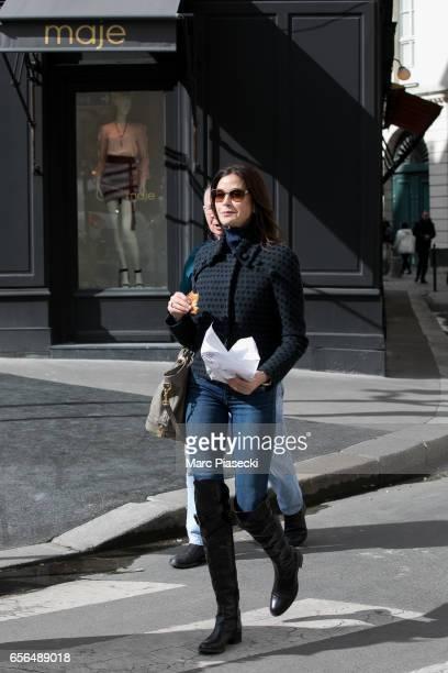 Actress Teri Hatcher is seen on March 22 2017 in Paris France