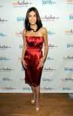 Actress Teri Hatcher poses for photos during the celebration of the launch of GetHatchedcom at Rouge Tomate on May 10 2010 in New York City