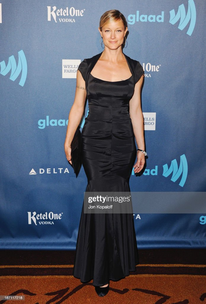 Actress Teri Polo arrives at the 24th Annual GLAAD Media Awards at JW Marriott Los Angeles at L.A. LIVE on April 20, 2013 in Los Angeles, California.