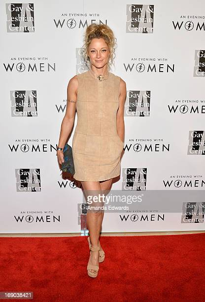 Actress Teri Polo arrives at the LA Gay Lesbian Center's 2013 'An Evening With Women' Gala at The Beverly Hilton Hotel on May 18 2013 in Beverly...