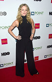 Actress Teri Polo arrives at the Point Foundation's Voices On Point Gala at the Hyatt Regency Century Plaza on October 3 2015 in Century City...