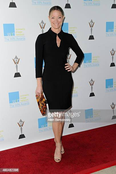 Actress Teri Polo arrives at Women's Image Network's 16th annual Women's Image Awards at Beverly Hills Women's Club on December 14 2014 in Beverly...