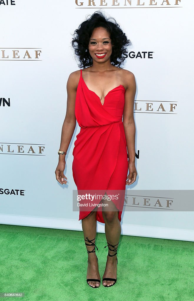 Actress Terri Abney attends the premiere of OWN's 'Greenleaf' at The Lot on June 15, 2016 in West Hollywood, California.