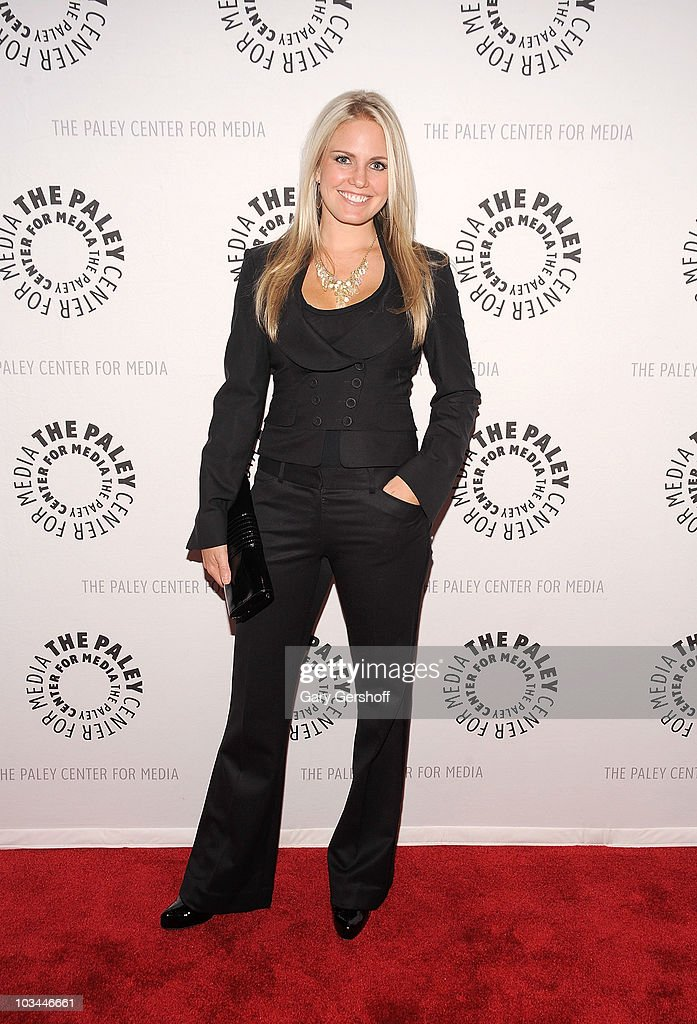 Actress Terri Colombino attends a farewell to cast of 'As The World Turns' at The Paley Center for Media on August 18, 2010 in New York City.