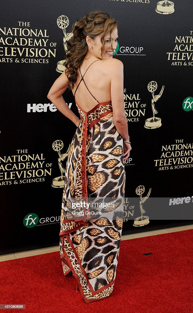 Actress <a gi-track='captionPersonalityLinkClicked' href=/galleries/search?phrase=Terri+Ivens&family=editorial&specificpeople=2128104 ng-click='$event.stopPropagation()'>Terri Ivens</a> arrives at the 41st Annual Daytime Emmy Awards at The Beverly Hilton Hotel on June 22, 2014 in Beverly Hills, California.