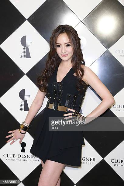 Actress Terri Kwan attends opening ceremony in rock style on Wednesday April 162014 in TaipeiChina