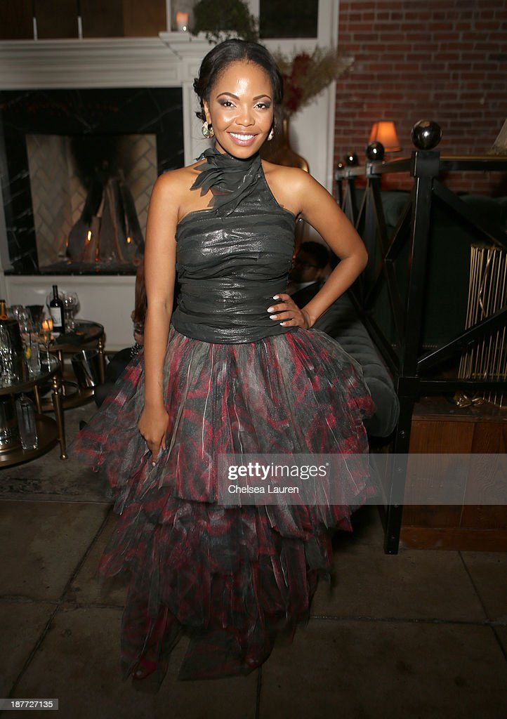 Actress Terry Pheto attends the after party for 'The Weinstein Company Presents The LA Premiere Of 'Mandela: Long Walk To Freedom' Supported By Burberry' at Warwick on November 11, 2013 in Los Angeles, California.