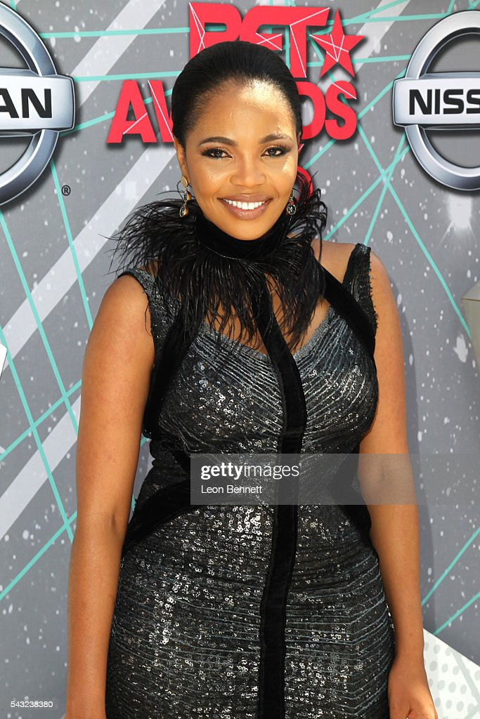 Actress <a gi-track='captionPersonalityLinkClicked' href=/galleries/search?phrase=Terry+Pheto&family=editorial&specificpeople=824105 ng-click='$event.stopPropagation()'>Terry Pheto</a> attends the Make A Wish VIP Experience at the 2016 BET Awards on June 26, 2016 in Los Angeles, California.