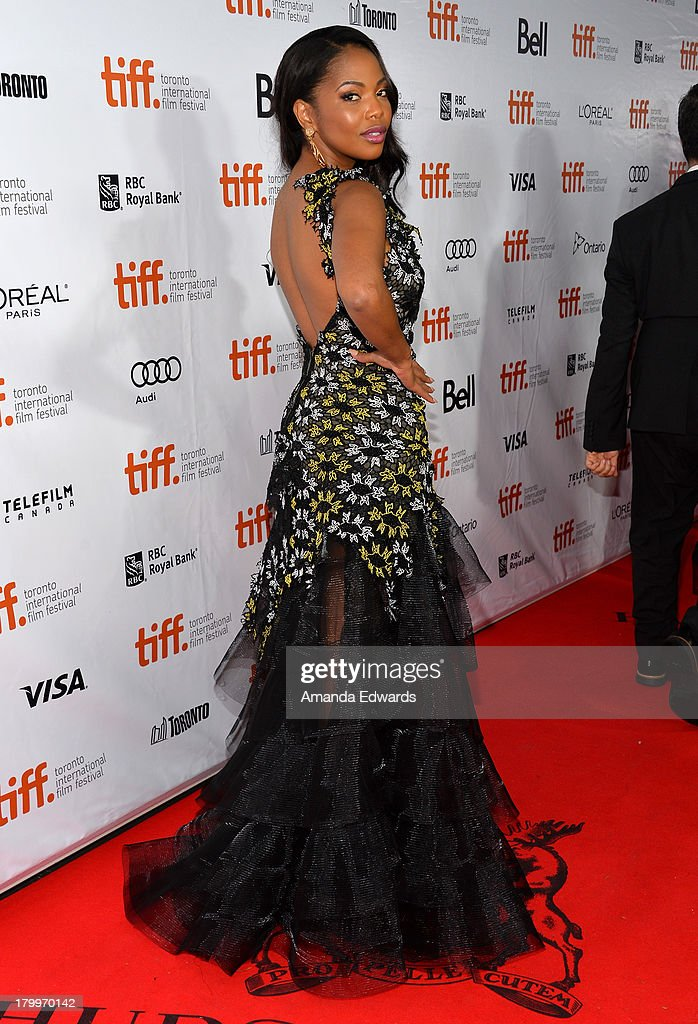 Actress Terry Pheto attends the 'Mandela: Long Walk To Freedom' premiere during the 2013 Toronto International Film Festival at Roy Thomson Hall on September 7, 2013 in Toronto, Canada.