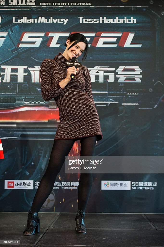 Actress Tess Haubrich during a press conference and photocall for Bleeding Steel at Sydney Opera House on July 28, 2016 in Sydney, Australia.
