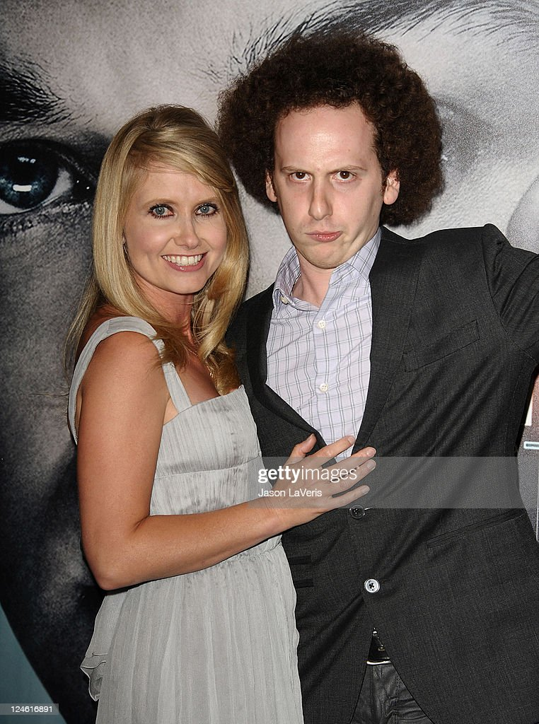 Actress Tess Hunt and actor Josh Sussman attend the 'X-Men: First Class' 3D projection party at The Roosevelt Hotel on September 8, 2011 in Hollywood, California.
