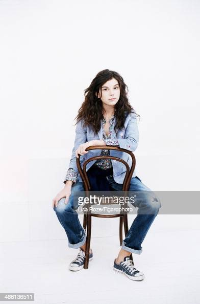 108662002 Actress Tess Le Govic is photographed for Madame Figaro on December 1 2013 in Paris France Model/actress Ines de la Fressange designed a...