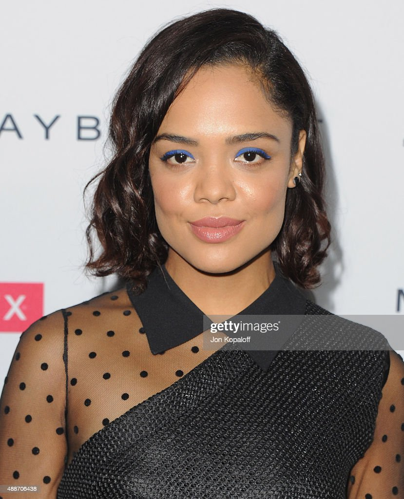 Actress Tessa Thompson arrives at People's 'Ones To Watch' Event at Ysabel on September 16, 2015 in West Hollywood, California.