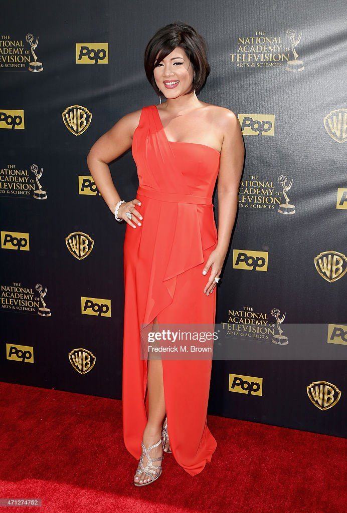 Actress Tessanne Chin attends The 42nd Annual Daytime Emmy Awards at Warner Bros Studios on April 26 2015 in Burbank California